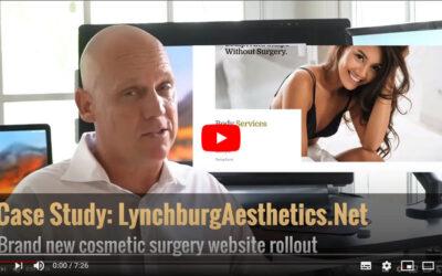LynchburgAesthetics.net – Video Case Study